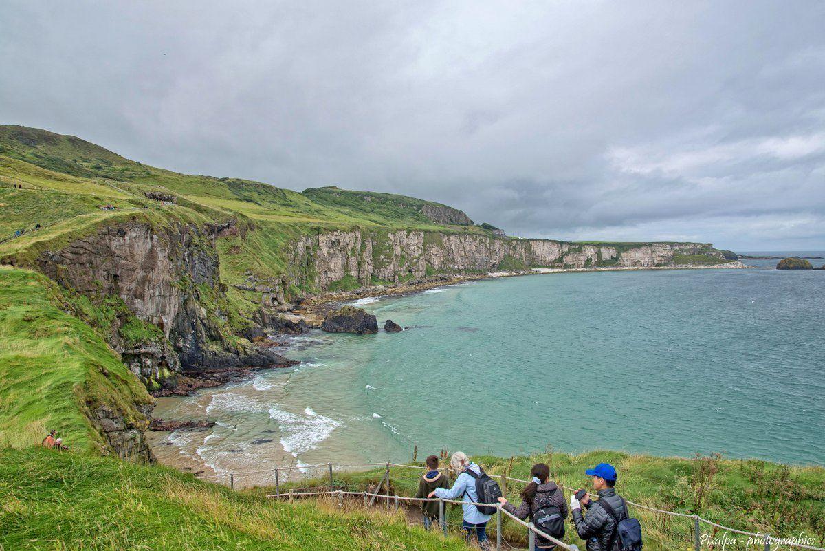 DARK HEDGES et CARRICK A REDE , Irlande du Nord.....