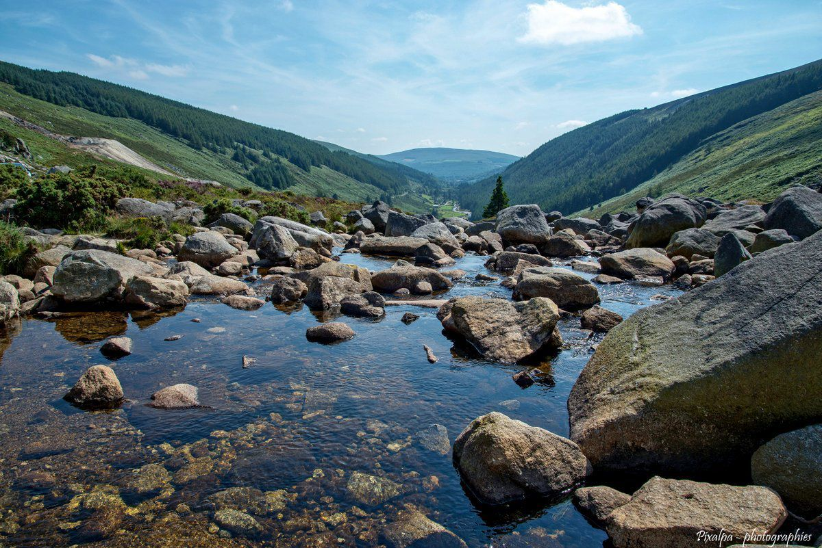 Wicklow mountains , Irlande ....