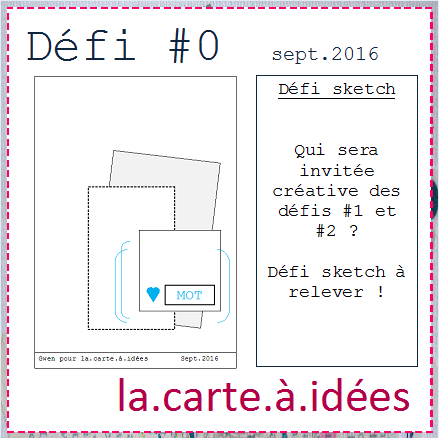 carte &quot&#x3B;Just for you&quot&#x3B;