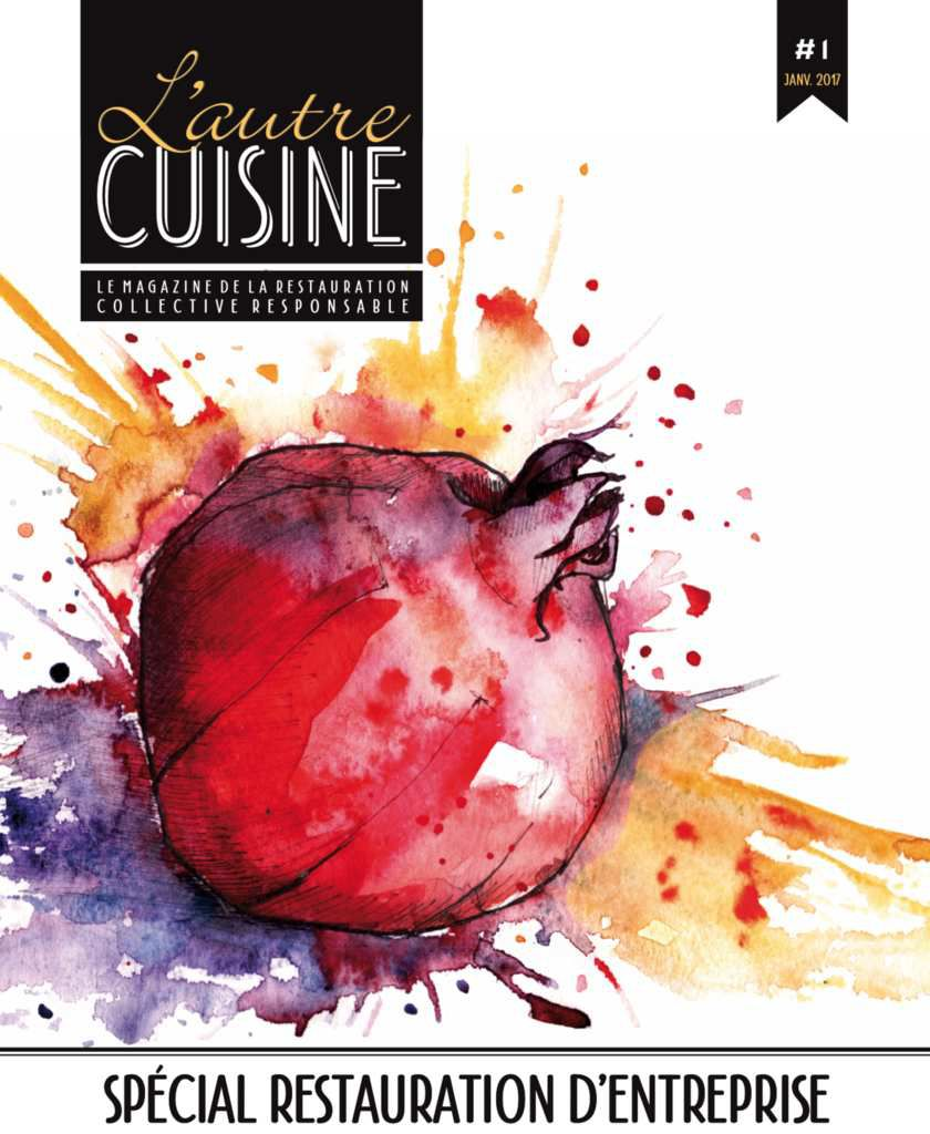 Magazine l autre cuisine 1 incognito co for Responsable de cuisine collective