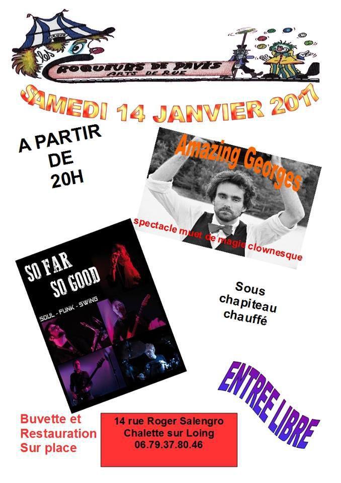 Soirée Spectacle-concert / 14 janvier 2017