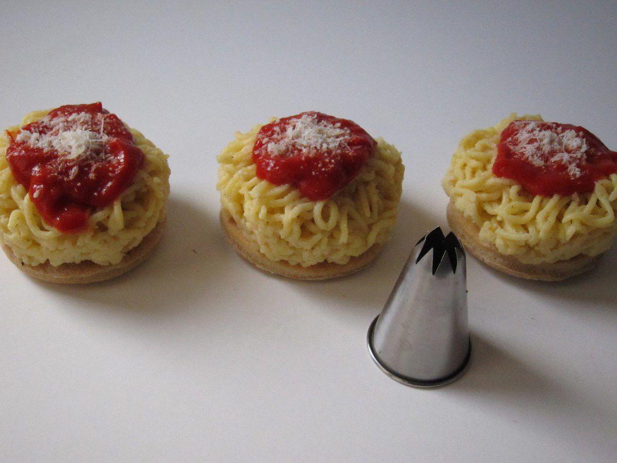 Spaghetti même à l'apéro...