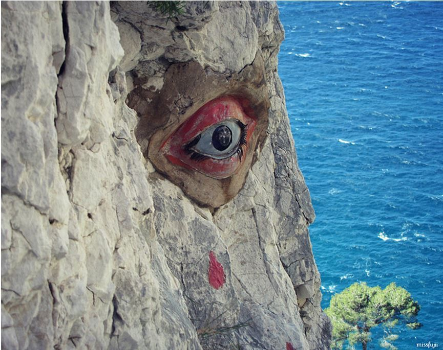 la calanque de l'oeil de verre