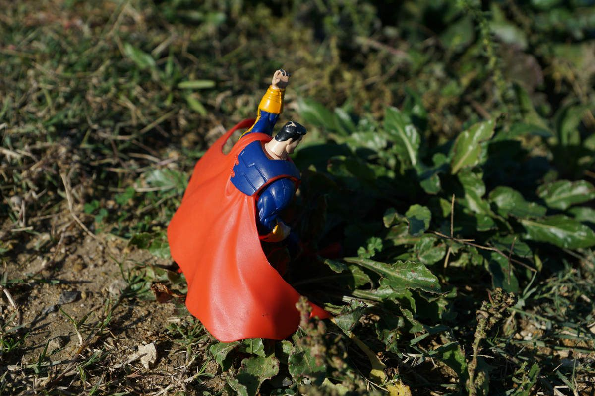 PROJET PHOTOGRAPHIQUE TOY DAY#26 Superman