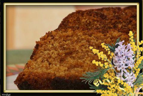 pain d'épice au miel de thym