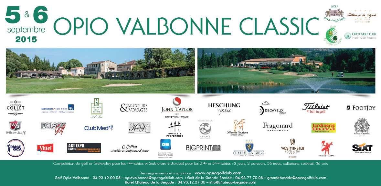 2015 OPIO VALBONNE CLASSIC