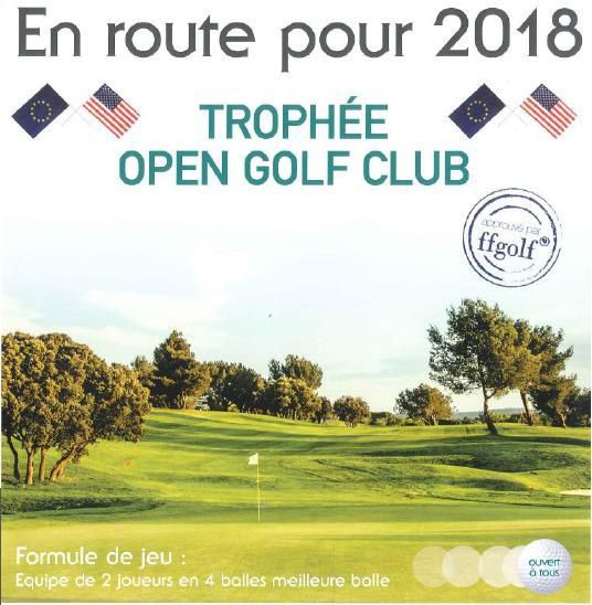 2015 TROPHEE OPEN GOLF CLUB