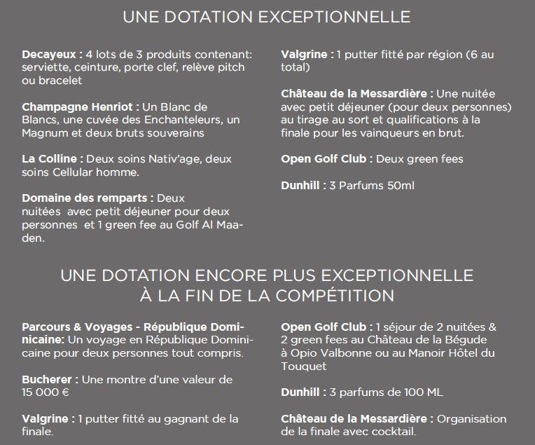 2017  Coupe DECAYEUX au Golf Opio Valbonne