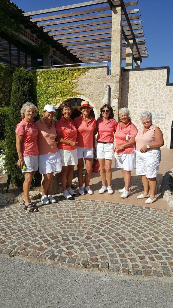 2017 Championnat de Ligue Senior Dames 1ére Division à Taulane