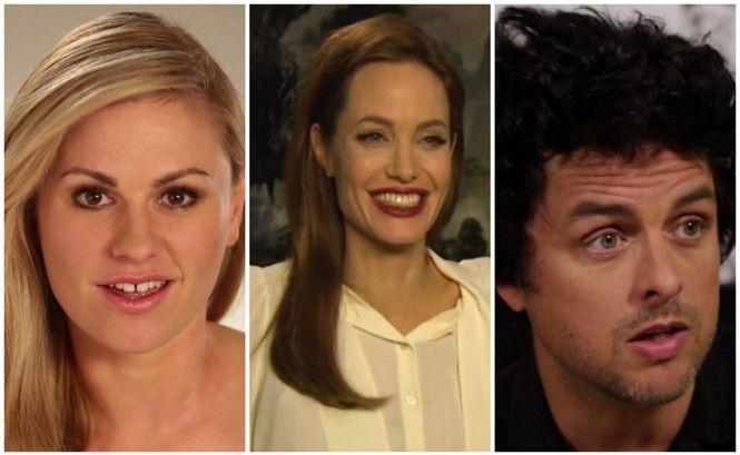 Anna Paquin, Angelina Jolie & Billie Joe Armstrong