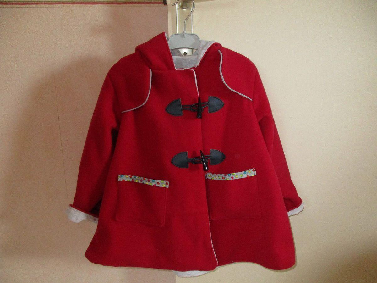 manteau lainage