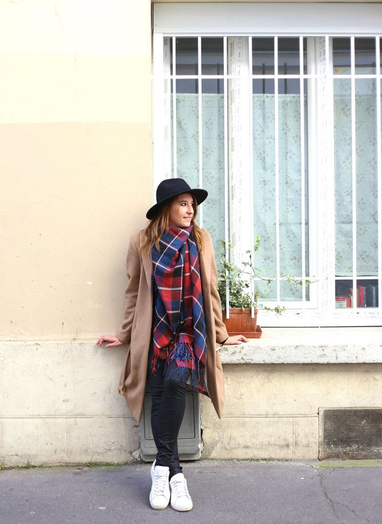 Comment porter un poncho le blog de valou modeuze blog mode paris tendances shopping - Comment porter le keffieh ...