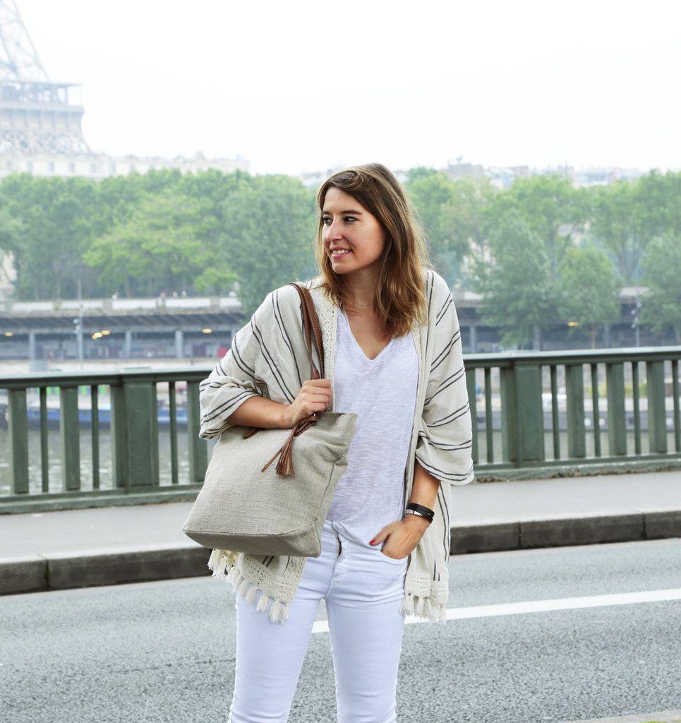 Sous la grisaille parisienne