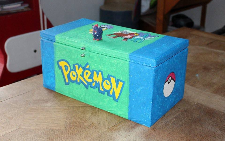 Boîte à secrets en carton