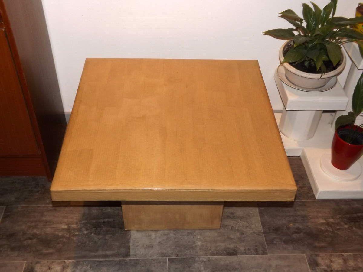 Petite table &quot&#x3B;Album photo&quot&#x3B; en carton