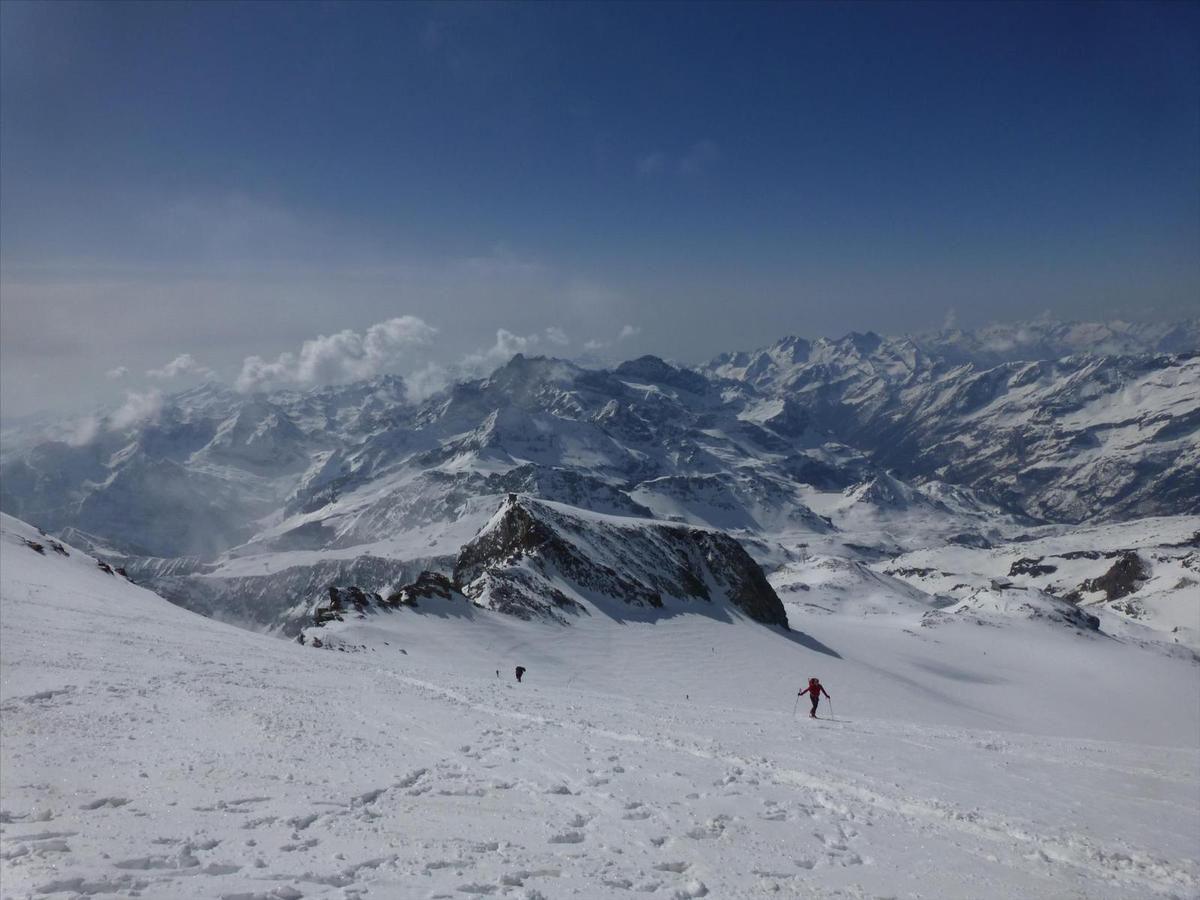 Punta Giordani - 4046 m