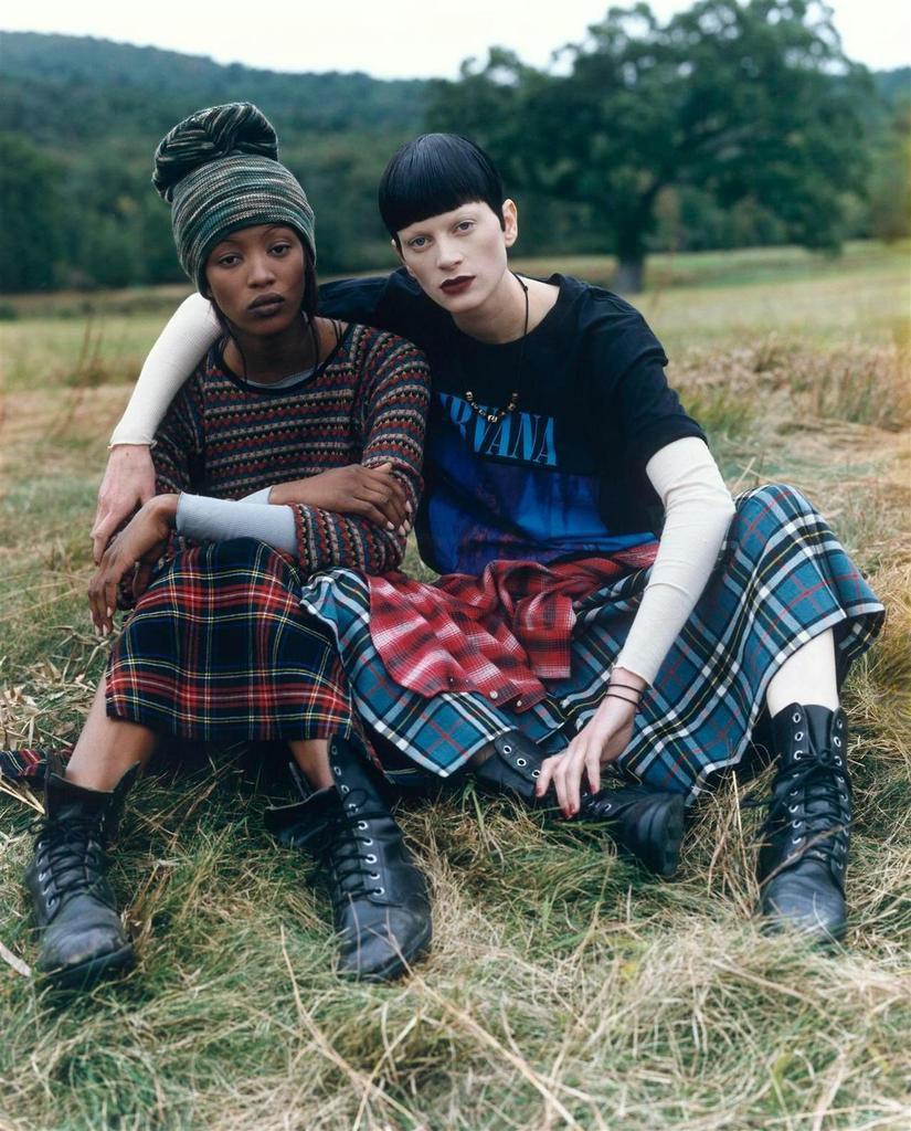 Vogue 1992 Naomi Campbell