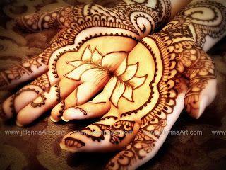 Lotus Mehndi