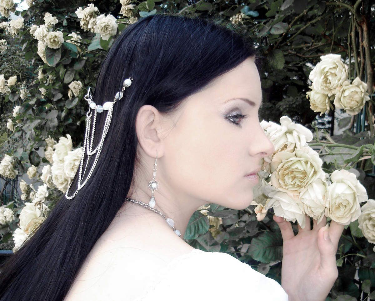 Onc upon a time, i was model Constance Barbier