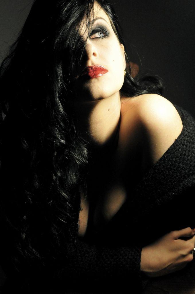 Once upon a time i was model Perla Maarek 5