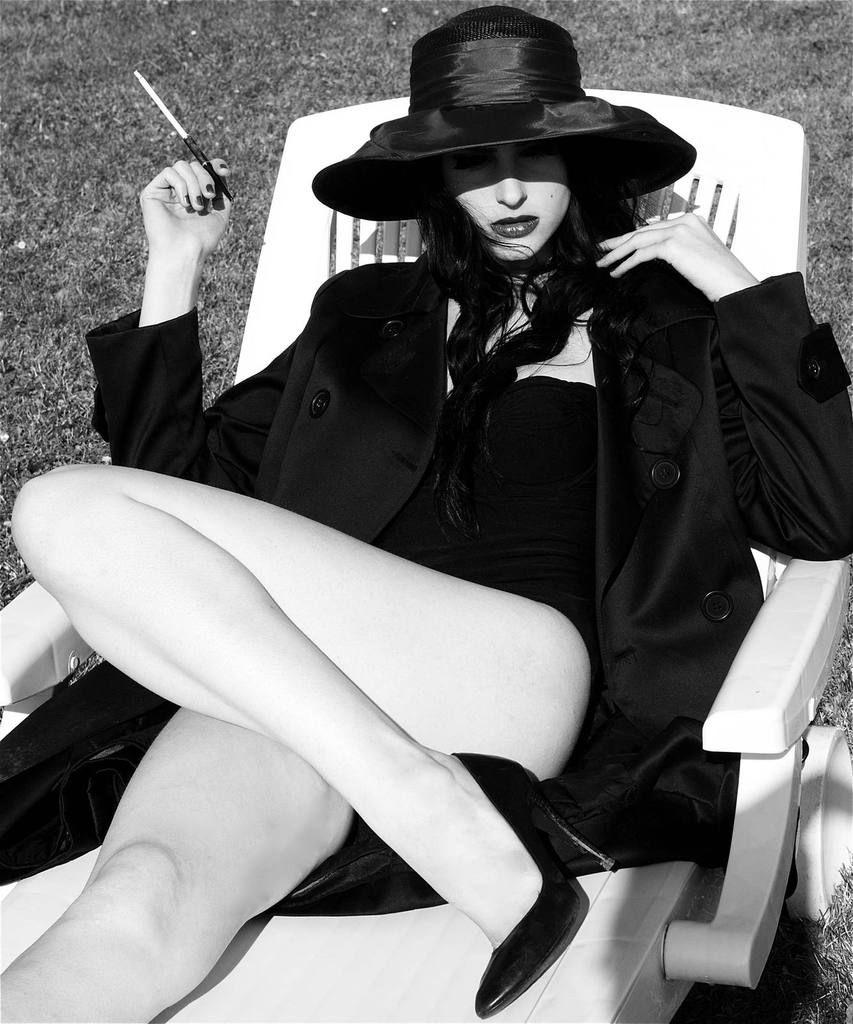 Once upon a time i was model Perla Maarek séance 2 8