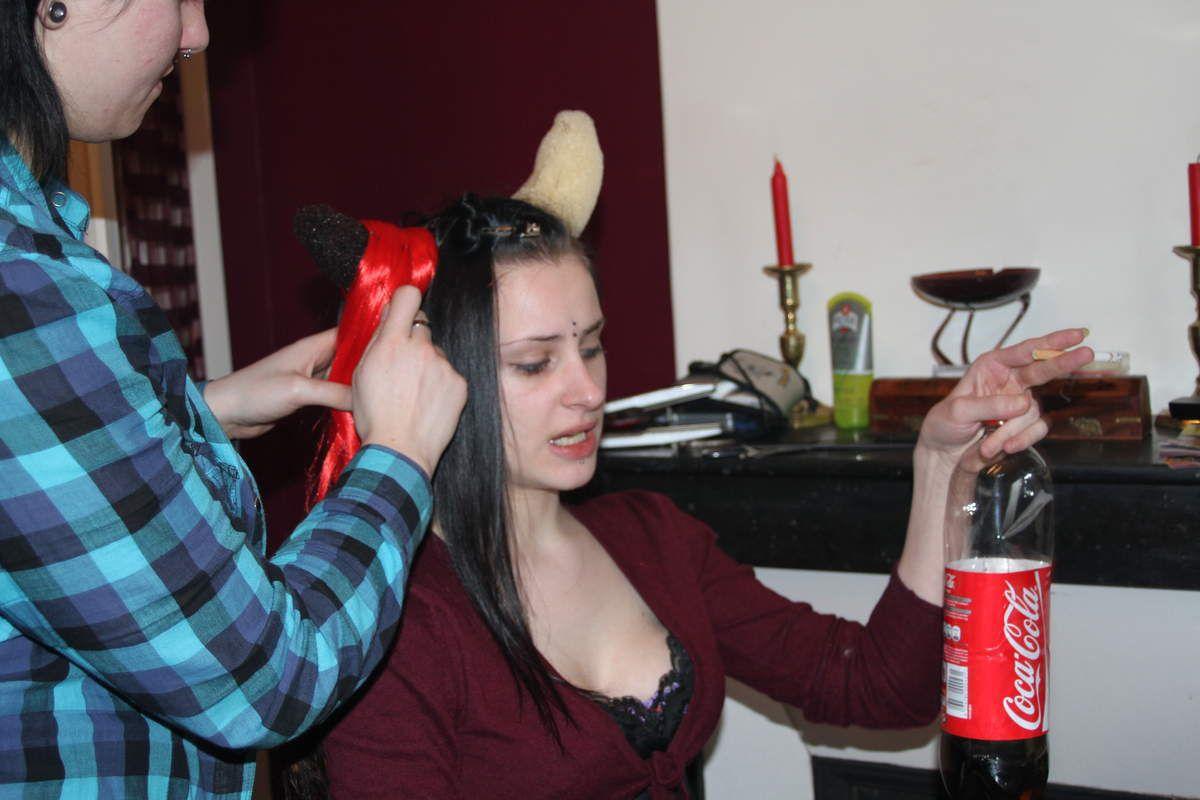 Once upon a time i was model Making Off Pandemonia