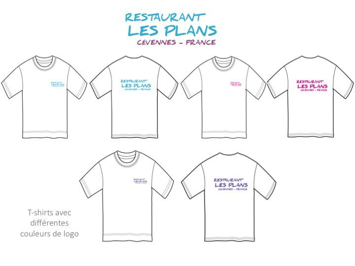 RESTAURANT LES PLANS - T-shirts