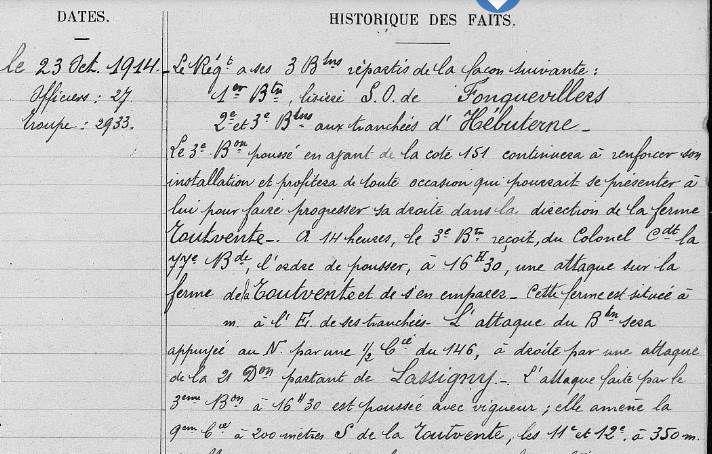 Il y a 100 ans : BAUDIN Odille René