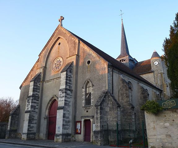 """Nogent-l'Artaud église St Germain"" by Thor19 - Own work. Licensed under CC BY-SA 3.0 via Wikimedia Commons -"