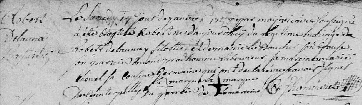 AD 61 BELLOU-EN-HOULME Registre paroissial 3NUMECRP40/EDPT181_20