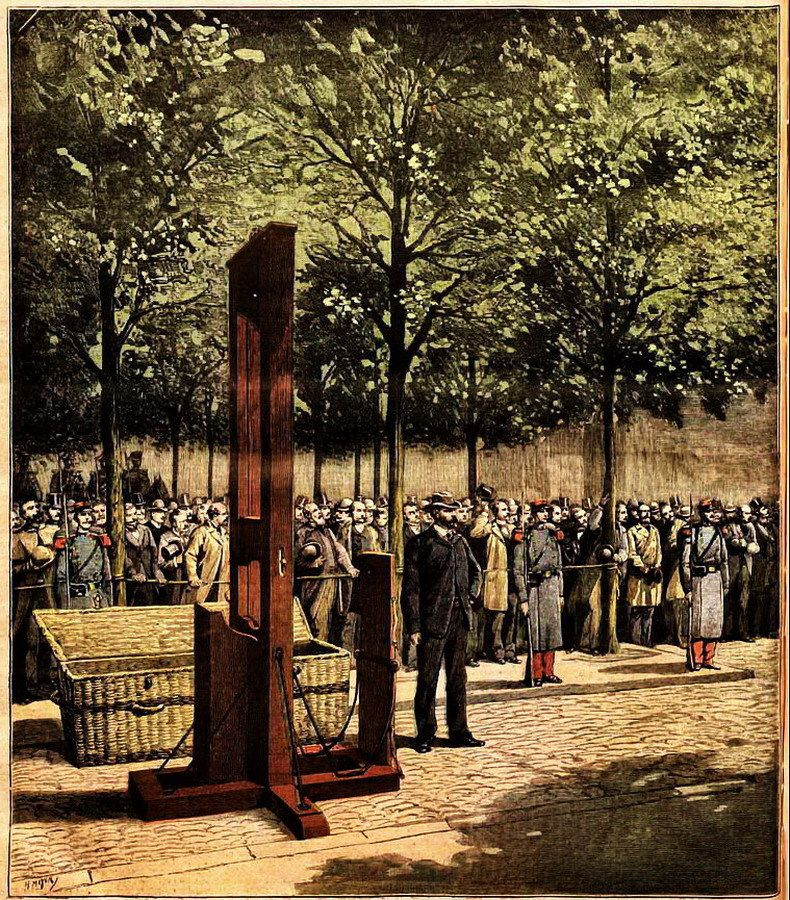 Par unindentified — magazine Le Petit Journal illustré, August 8, 1891 (page part I / part II « La sortie de la Roquette » is missing), Domaine public,3