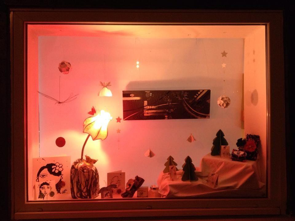 Vitrine de Noël 2014 Quand Rose Recèle invite ses amies Nini green et L'encre rêveuse pour un Noël féériqueNO