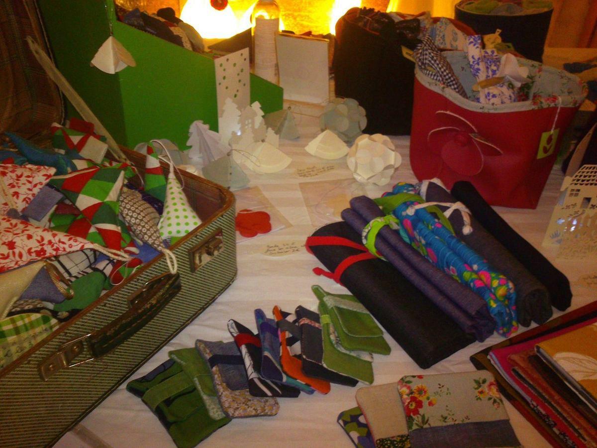 Petit Marché de Noël de l'atelier de Grand-camp 28-29-30 Novembre 2014 avec Nini green et l'Encre rêveuse