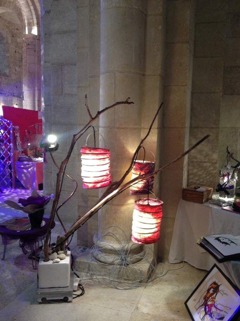 Marché de Noël à l'Abbatiale de Bernay 5-6-7 Décembre 2015 organisé par l'UCIAL avec L'Encre Rêveuse et Nini Green