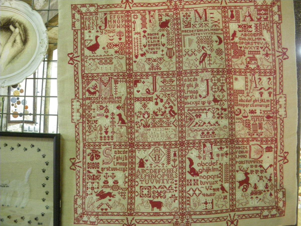 Broderies Agel exposition avril 2016