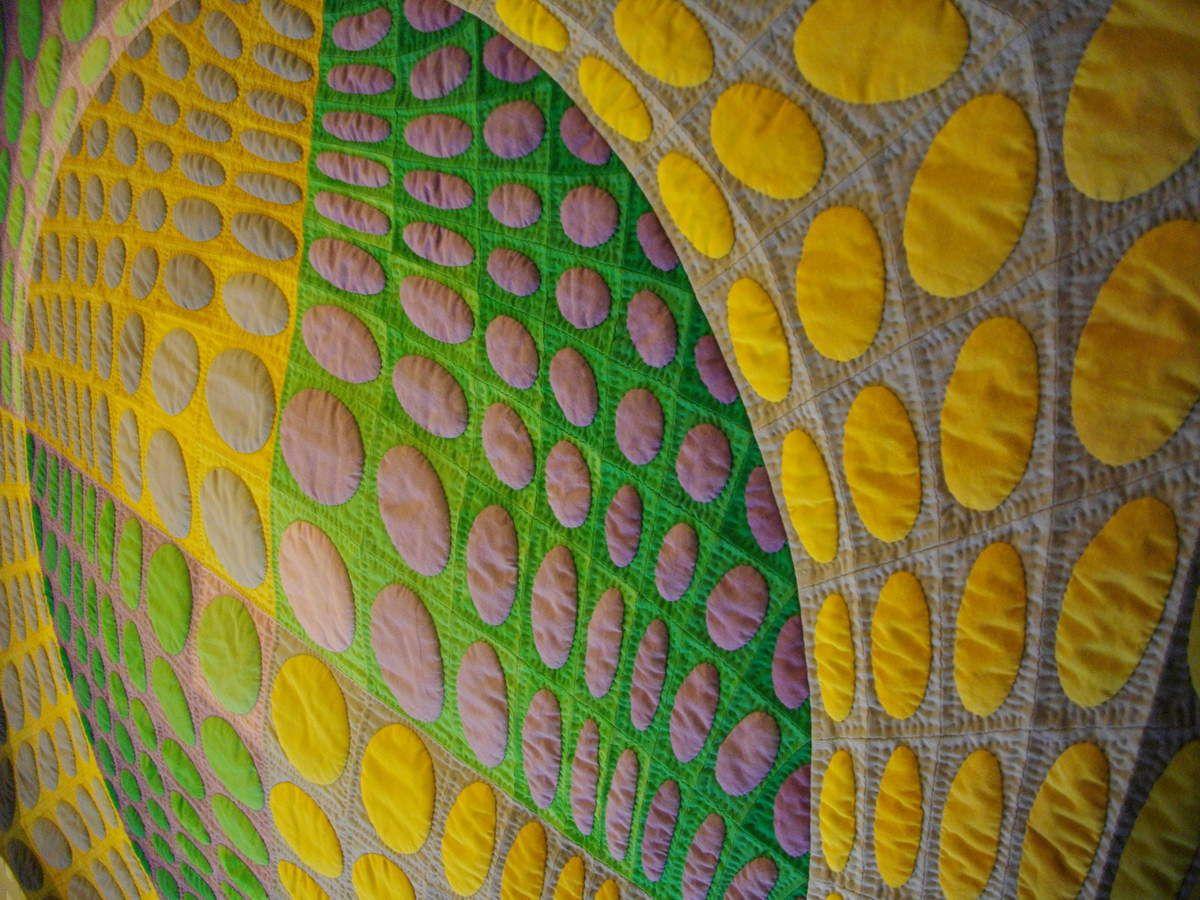 quilt inspiré de Vasarely