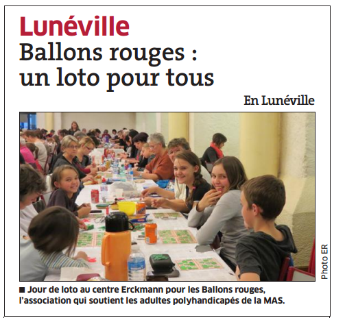 Super Loto des Ballons Rouges
