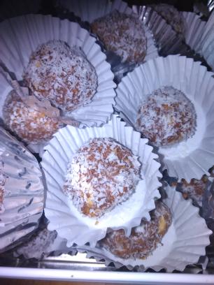 Boule à la noix de coco
