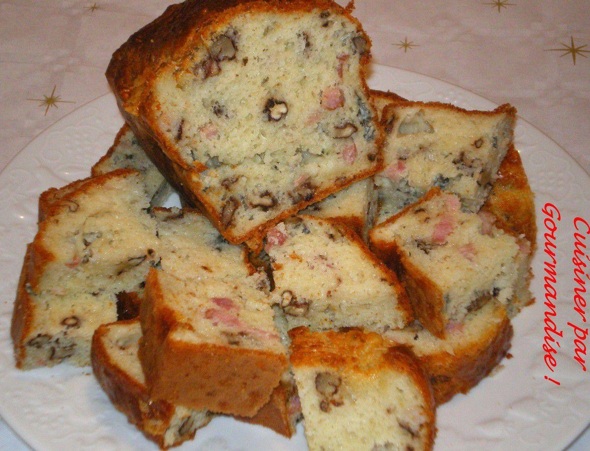 Cake Noix et Roquefort