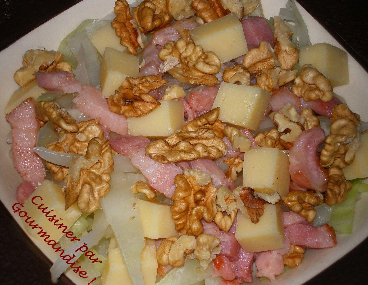 Salade Hivernale au Chou Blanc