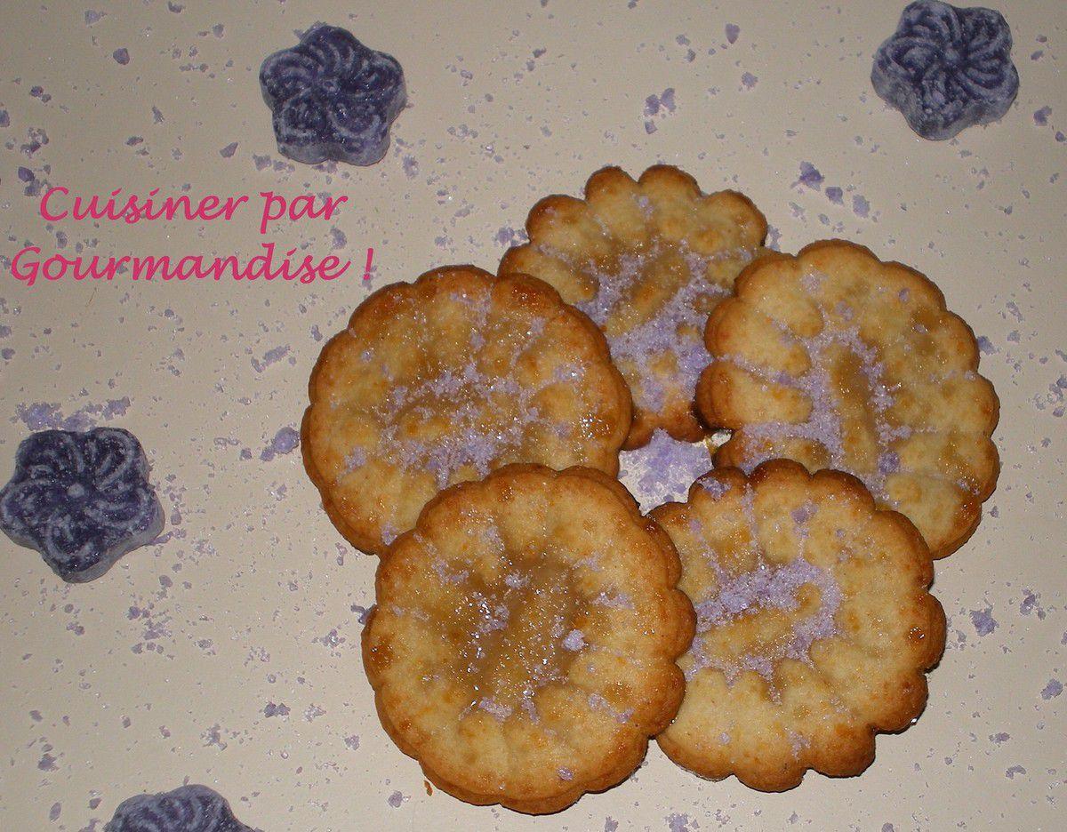 Biscuits Cristallisés à la Violette