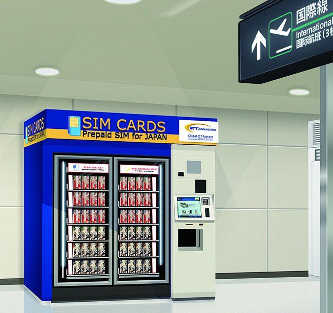 Distributeurs de cartes SIM