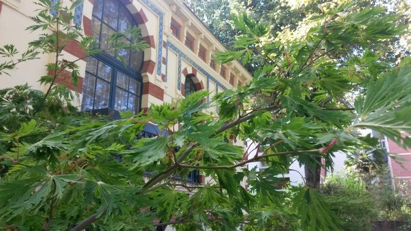 Le musée, une partie de sa collection japonaise, le jardin