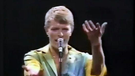 David Bowie, live in Japan