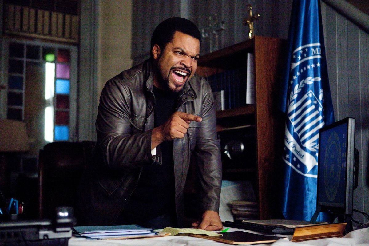 """Ice Cube, le fameux chef """"noir"""""""
