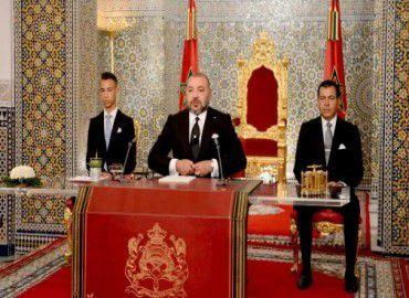 الخطاب السامي الذي وجهه صاحب الجلالة الملك محمد السادس بمناسبة الذكرى الثامنة عشرة  لتربعه  على العرش29/07/2017