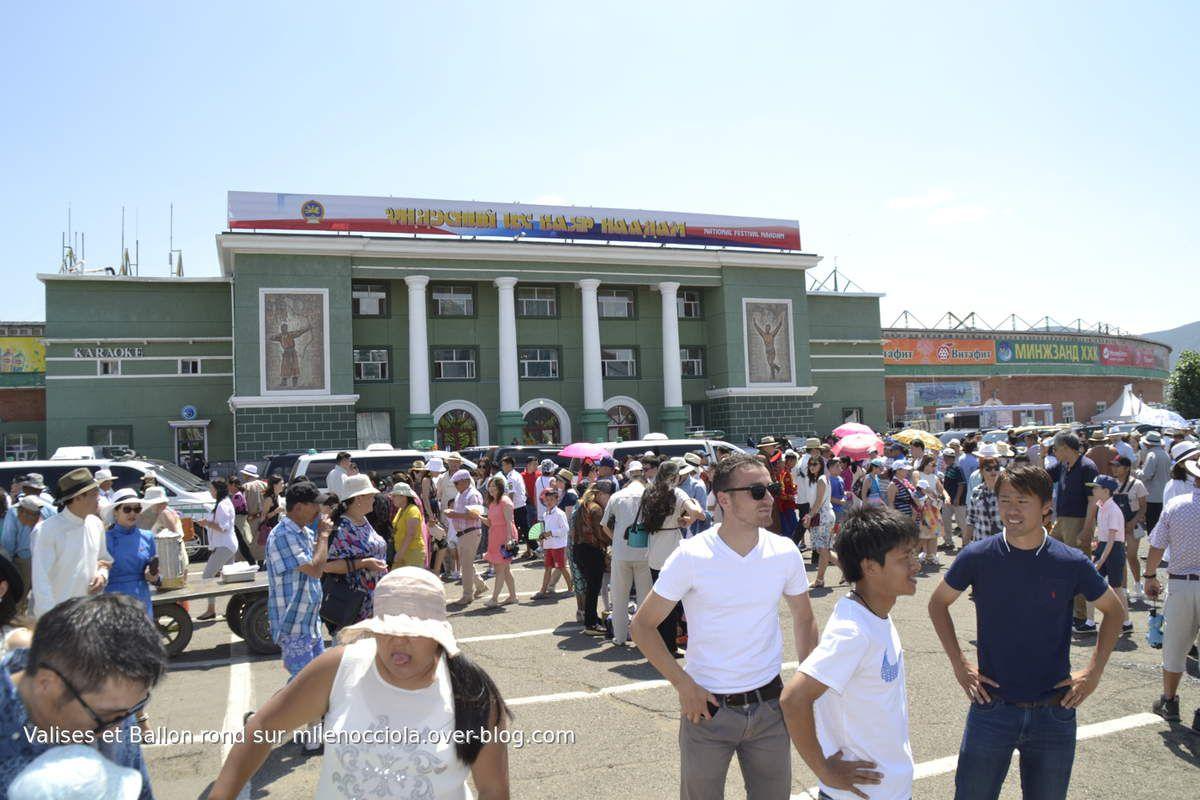 Naadam Festival 2017 - part 1