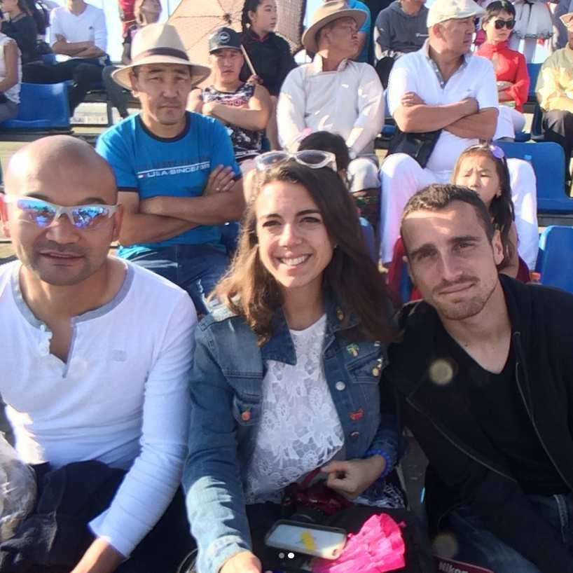 Avec notre ami Degii