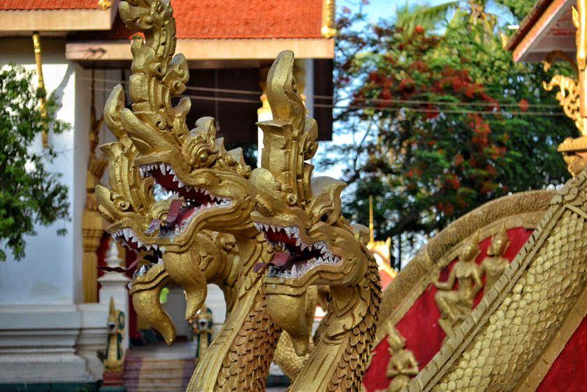 Ban That Luang Nuea : détails I