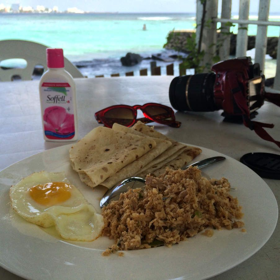 Maldivian breakfast